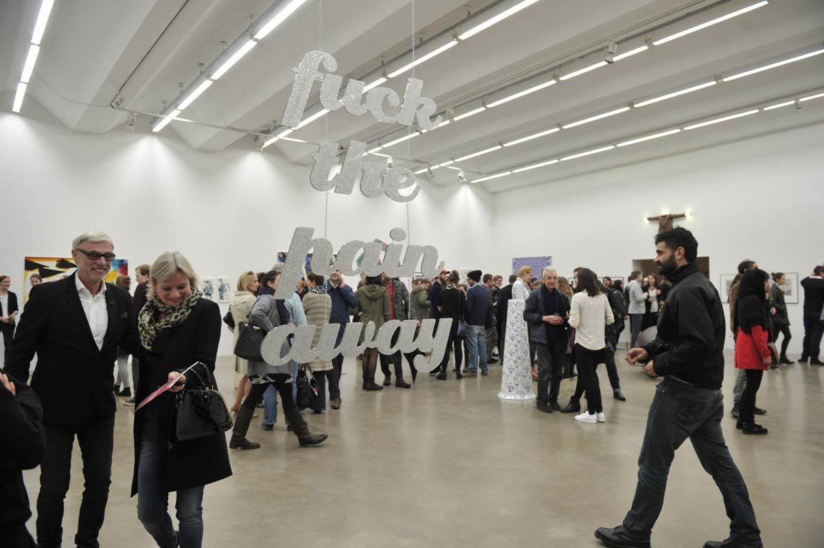 Saloon, 2015, Exhibition Opening