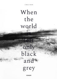 Carla Chan, Publication, When the world is left only black and grey, Sexauer Gallery