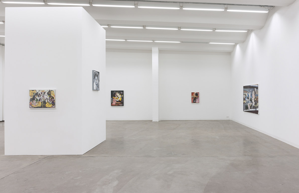 Herbert Volkmann, Society Coma, exhibition view, 2014