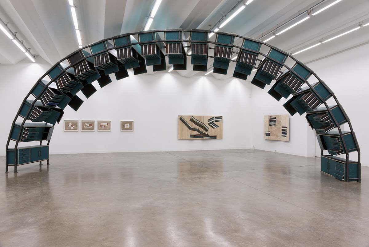 Jay Gard, Exhibition View, 2013, Sexauer Gallery