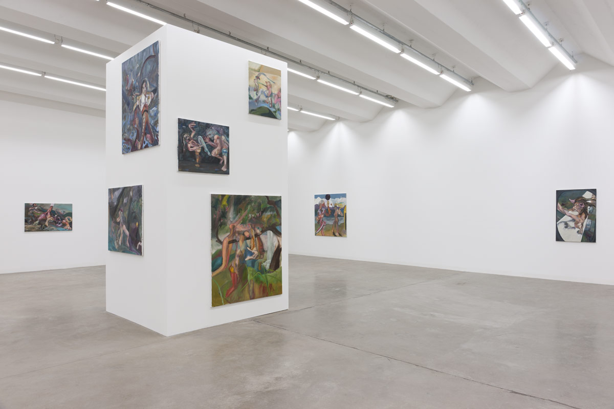 Alexander Iskin, exhibition view, Bastard Club, 2014