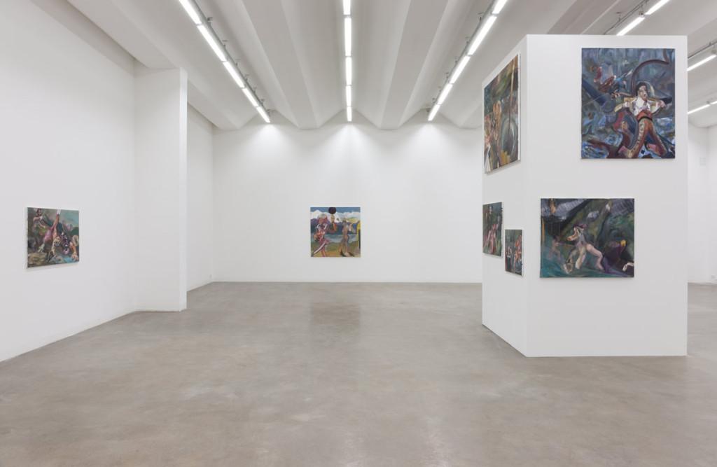 Alexander Iskin Exhibition Bastard Club 2014
