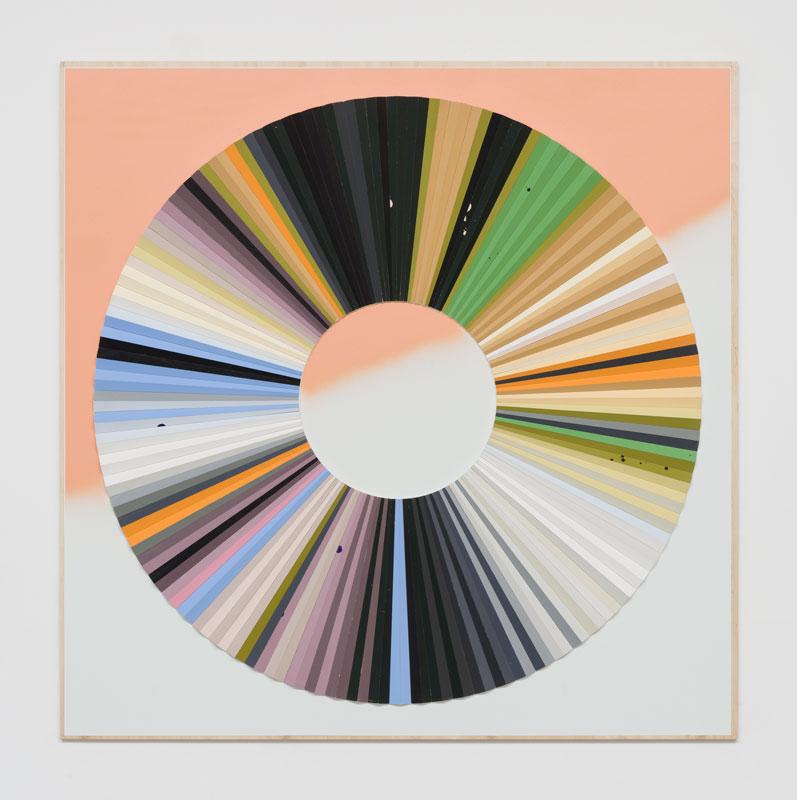 Jay Gard, Farbkreis Gabriele, 2019, Sexauer Gallery