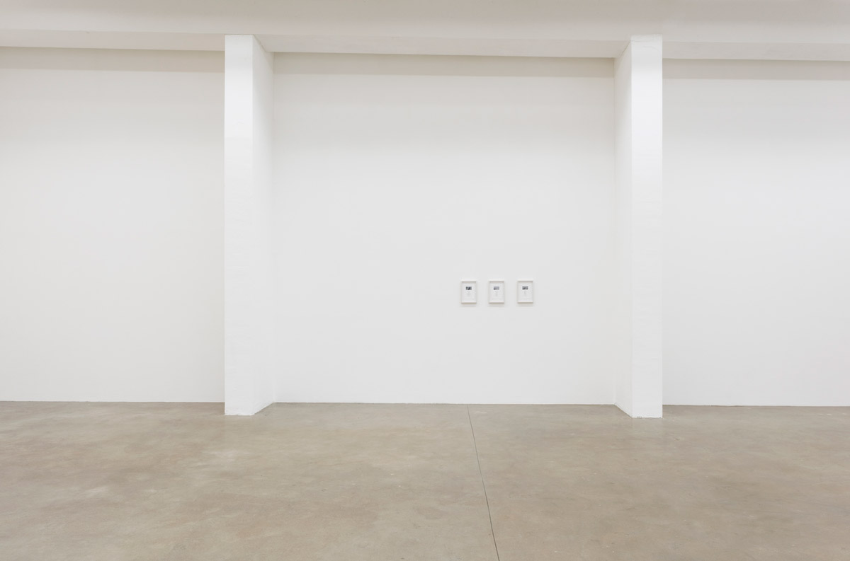 The Recurring Frequency of a Fading Moment, Exhibition View, Ornella Fieres, Sexauer Gallery