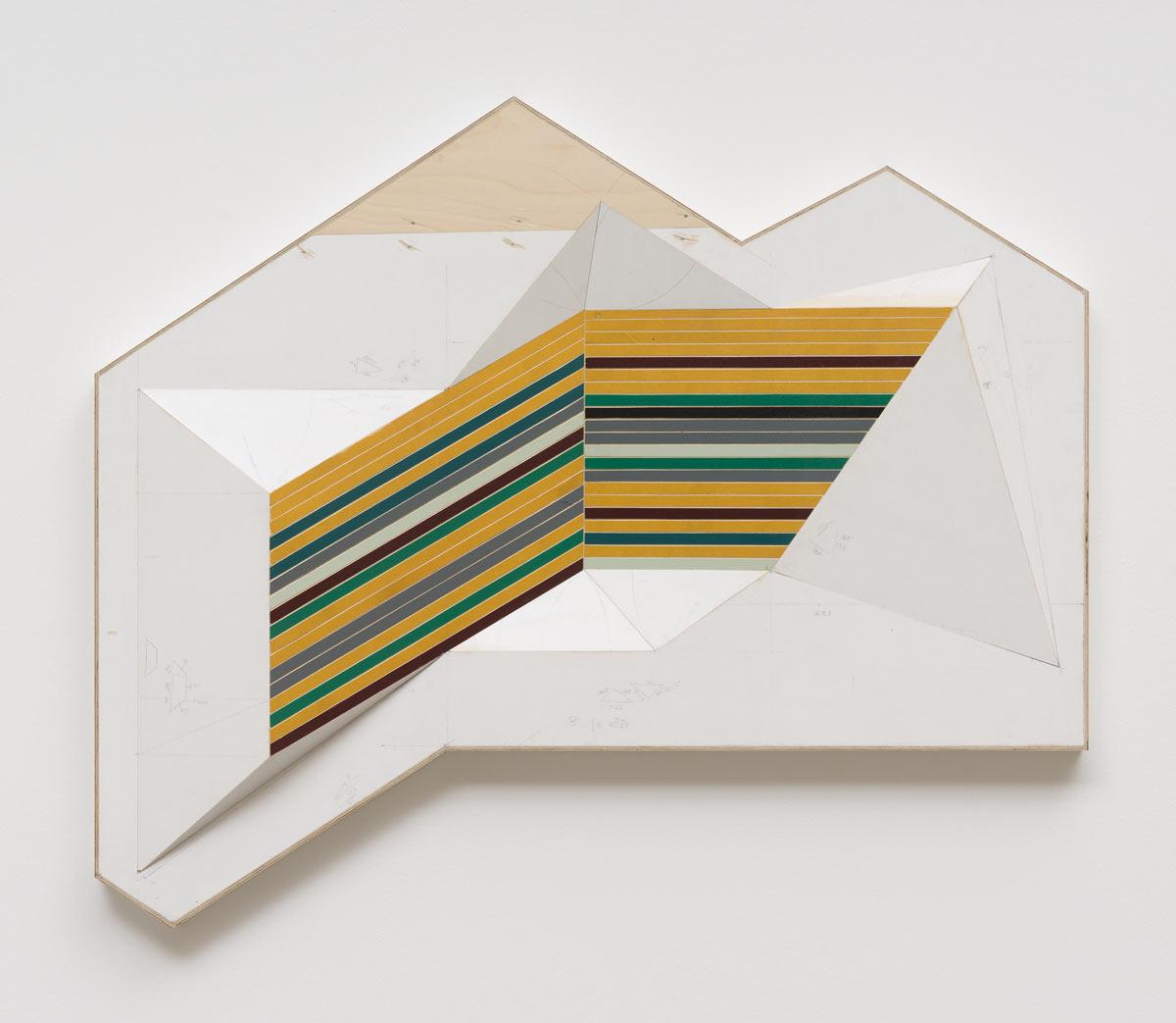 Jay Gard, Selter, 2015, Sperrholz, Schrauben, Leim, Acryl, 2015, Sexauer Gallery