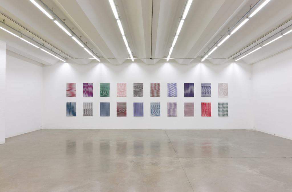 Caroline Kryzecki, Superposition, exhibition view, 2014