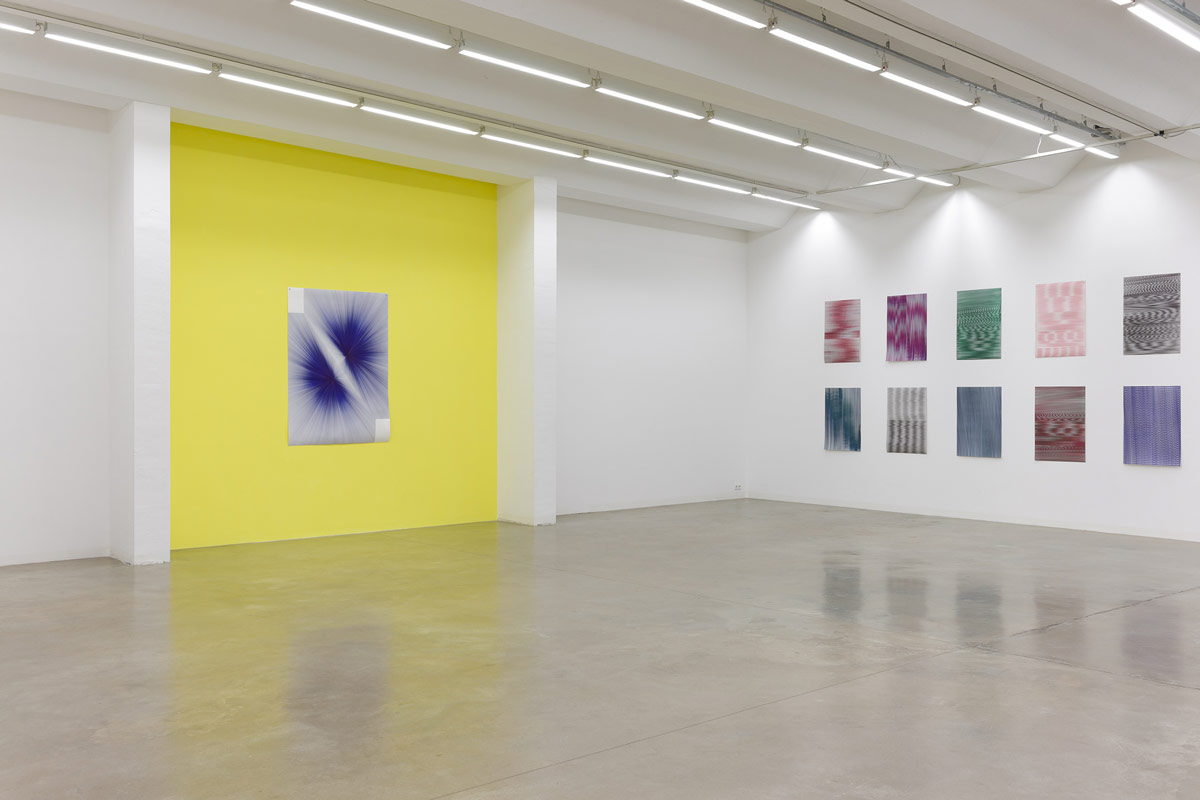 Caroline Kryzecki, Superposition, exhibition view, 2014, Sexauer Gallery