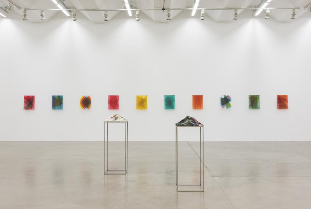Futo Akiyoshi, 2015, exhibition view, Adherence