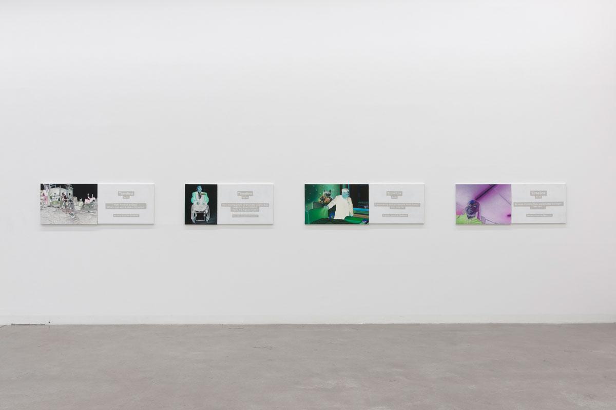 Ryszard Wasko, 2015, Timeline, Exhibition