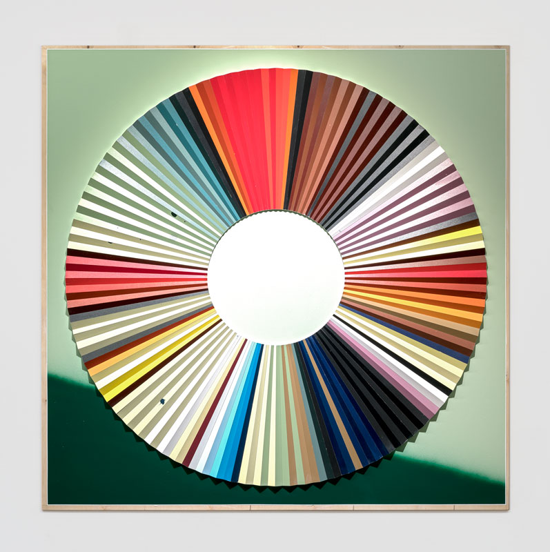 Jay Gard, Farbkreis Münter, 2019, Sexauer Gallery