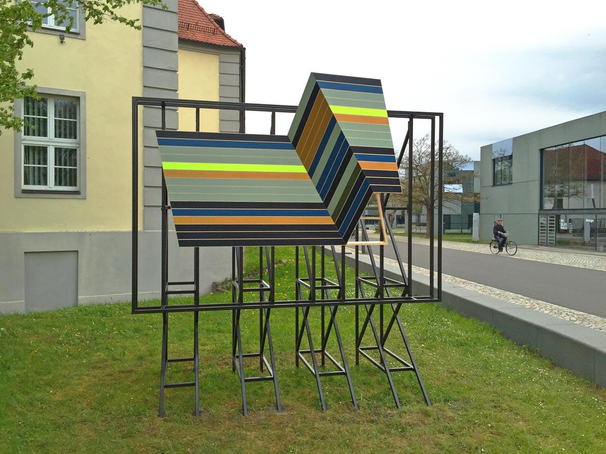 Jay Gard, Deffke Billboard, Bauhaus Dessau, 2016, Sexauer Gallery